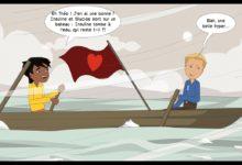 Photo of Théo et Lucas sont sur un bateau