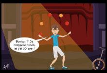 Photo of Timéo, notre artiste équilibriste !