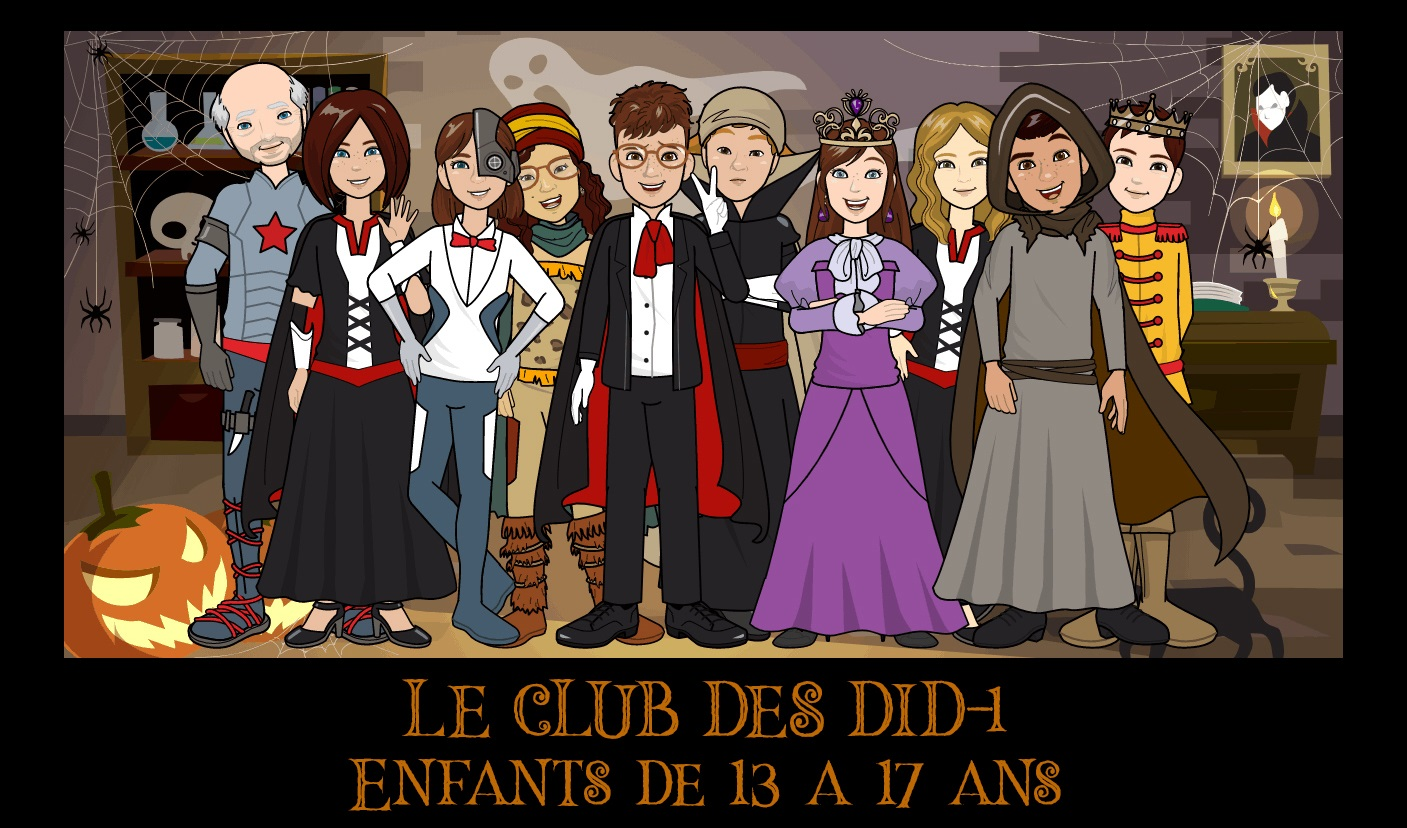 Le Club des DID-1, Jeu, Set et Match, Le Mystère du Stapula, Les Ilots de Langerhans, la BD