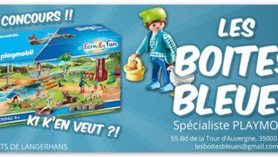 Photo of Nouveau Jeu Concours ! Les Boîtes Bleues
