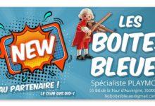 Photo of Les Boites Bleues, nouveau partenaire !