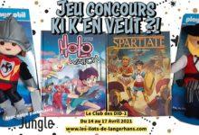 Photo of Jeu Concours – Ki K'en Veut ?! – PLAYMOBIL & BD !
