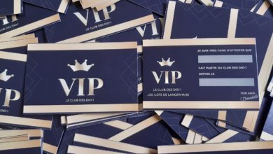 Photo of Carte VIP pour nos enfants !