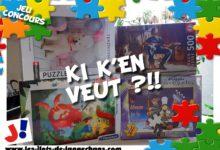 Photo of Jeu concours «Ki K'en veut !» – Série PUZZLE !